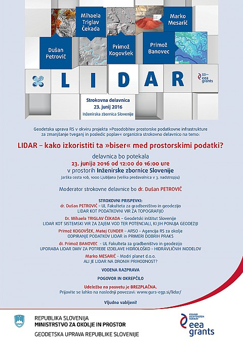3Dsurvey speaks at LIDAR Professional Workshop