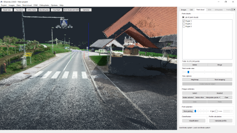 Drone-based 3Dsurvey Map for building a Sewerage System