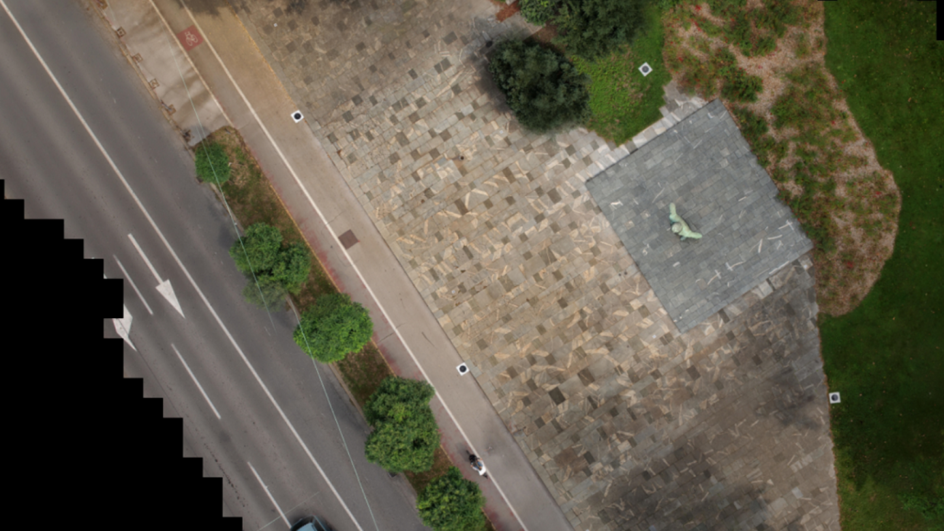 City Centre square renovation (Orthophoto with resolution of 1 mm)