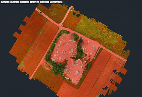 Point cloud classification (source: 3Dsurvey)