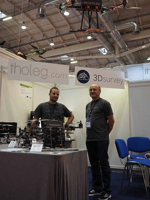 3Dsurvey at Intergeo 2016