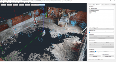 Indoor Mapping of a House with a Phone Camera