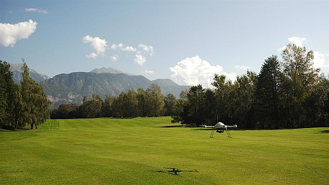 Bled Golf Course orthophoto map