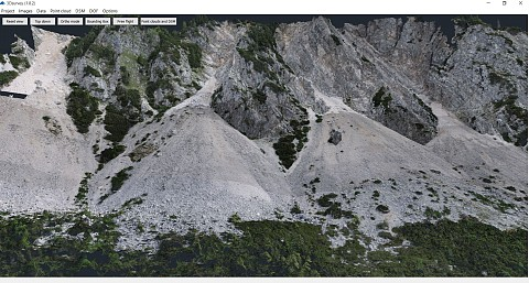 Potoška Planina Scree