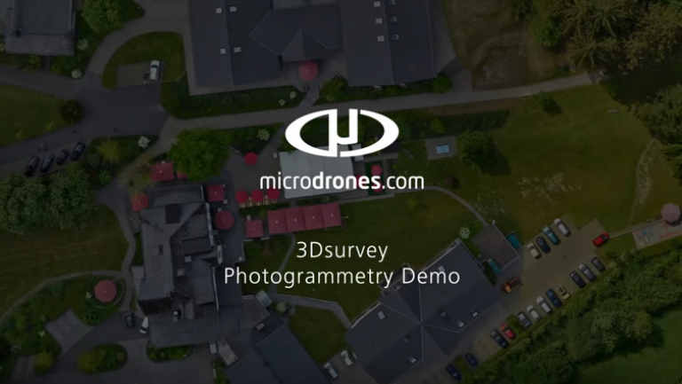 3Dsurvey teams up with Microdrones and Phase One